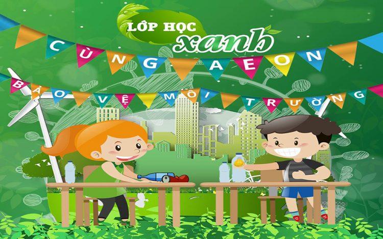Eco Day – Chung tay bảo vệ môi trường cùng AEON MALL
