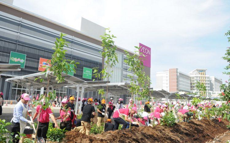 """Ngày lễ trồng cây """"Cánh rừng quê hương AEON"""" tại AEON MALL Bình Tân"""