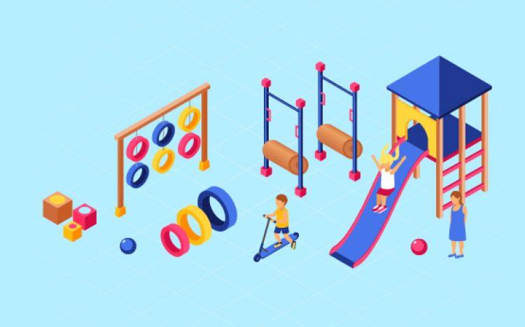 Không gian vui chơi miễn phí cho trẻ em
