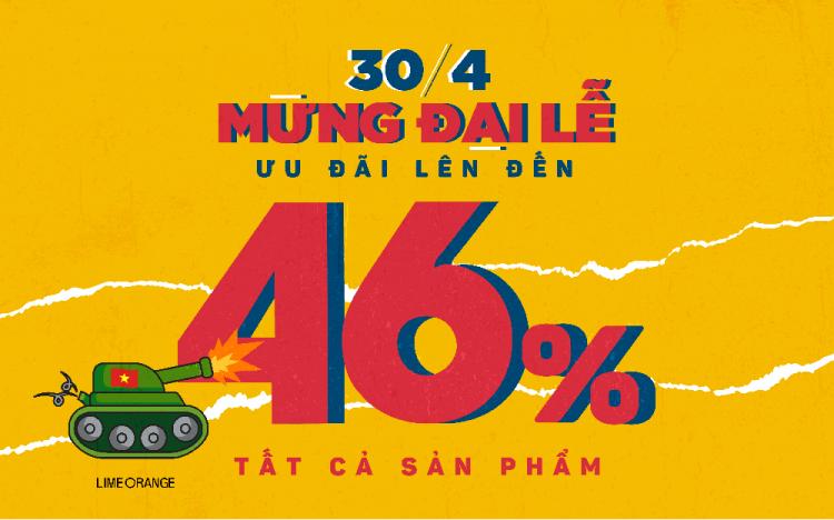 LIME ORANGE – ƯU ĐÃI LỄ 50% SẢN PHẨM